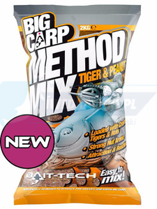 Bait Tech Big Carp Method Mix Tiger & Peanut 2kg