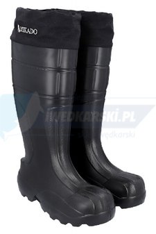 MIKADO KALOSZE MIKADO NORTH POLE THERMAL BLACK ROZM.42