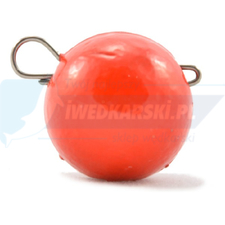 LUCKY TACKLE CHEBURASHKA sinker 10GR red - 2szt