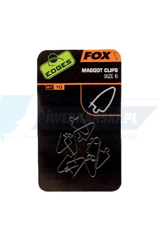 FOX Edges Maggot Clips Size 6 x 10