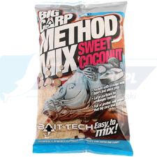 BAIT TECH ZANĘTA Big Carp Method Mix: Sweet Coconut 2kg