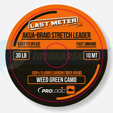 PROLOGIC Akua-Braid Leader 10m 30lbs camo green