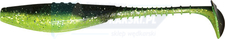 "DRAGON Belly Fish PRO 2.5""/6cm 5szt. CHARTREUSE/BLACK silver glitter"