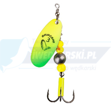 SAVAGE GEAR Caviar Spinner #2 6g 07-Fluo Yellow / Chartreuse