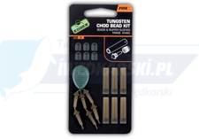 FOX Edges tungsten chod bead kit x6
