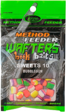 LORPIO SWEETS BUBBLEGUM 10 mm 15g - Przyneta Method Feeder WAFTERS Hook Baits