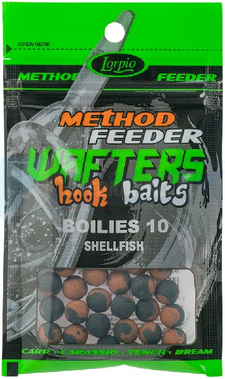 LORPIO BOILIES SHELLFISH 10 mm 15g - Przyneta Method Feeder WAFTERS Hook Baits