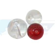 Fox Rage Rage Glass Beads 10mm x 10 Loose Red