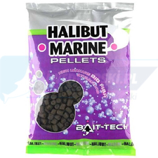 BAIT TECH Halibut Marine Pre-Drilled Pellets 14.0mm 900g