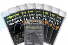 KORDA WIDE GAPE B barbless 6