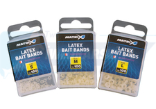 Matrix Matrix Latex Bait Bands x 100pc Small