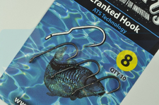 CARPRUS haki Cranked Hook ATS Technology nr 8