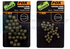 FOX Edges 6mm Tapered Bore Beads x 30