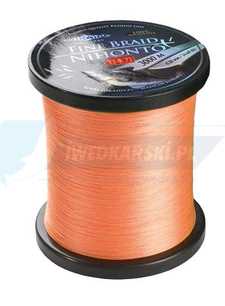 MIKADO PLECIONKA NIHONTO FINE BRAID 014 ORANGE 3000M