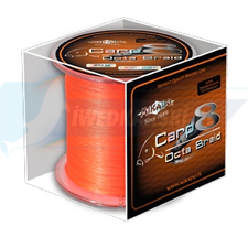 MIKADO PLECIONKA CARP OCTA BRAID 020 ORANGE 600M
