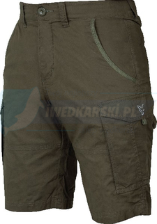 FOX SPODENKI Collection combat shorts Green / Silver - L