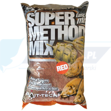 BAIT TECH ZANĘTA Super Method Mix Red 1KG