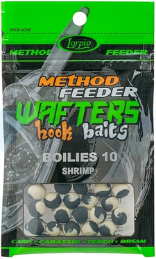 LORPIO BOILIES SHRIMP 10 mm 15g - Przyneta Method Feeder WAFTERS Hook Baits