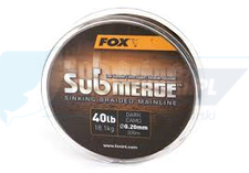 FOX Submerge sinking braid 40lb x 300m