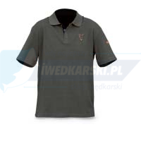 FOX Polo Shirt Green Large