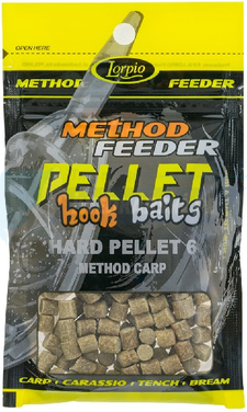 LORPIO Hard Pellet method carp 6 mm 25g - Przyneta Method Feeder PELLET HOOK BAITS