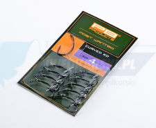 PB PRODUCTS Curved KD-hook DBF size 6 10pcs