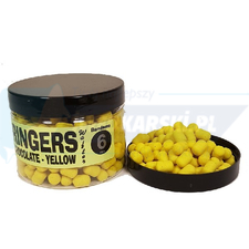 Dumbells wafters yellow chocolate mini RINGERS