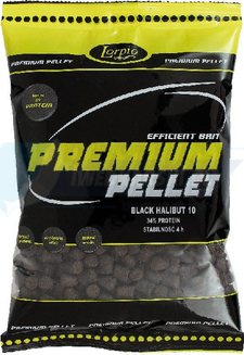 LORPIO Pellet Black Halibut 4,5 mm 700g