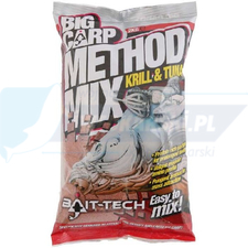BAIT TECH ZANĘTA Big Carp Method Mix: Krill & Tuna 2kg