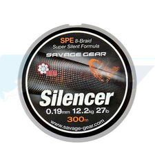 SAVAGE GEAR Plecionka HD8 Silencer Braid 120m 0.19mm 12.2kg Green