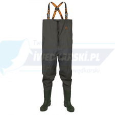 FOX spodniobuty LW Green Waders size 46
