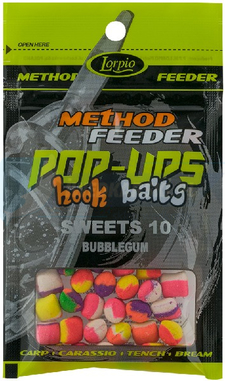 LORPIO SWEETS BUBBELGUM 10 mm 15g - Przyneta Method Feeder POP-UPS Hook Baits