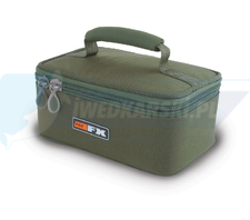 FOX FX Glug Pot Case (inc 4 x tinted full pots and 4 x half pots)