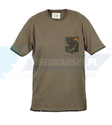 FOX Fox Chunk Khaki / Camo Pocket T-shirt - S
