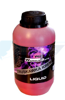 WARMUZ BAITS Truskawka Krem Liquid 500ml