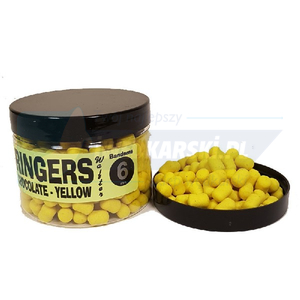 Dumbells wafters yellow chocolate 6mm RINGERS