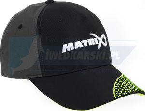 czapka z daszkiem Matrix Grey / Lime baseball hat