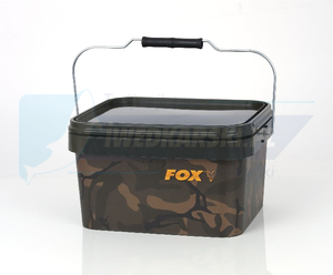 Wiadro FOX Camo Square Bucket 5L
