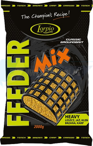 LORPIO Zanęta feeder mix heavy 2000g