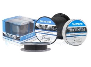 SHIMANO żyłka Technium 790m 0,355mm Premium Box 1/4 Pound