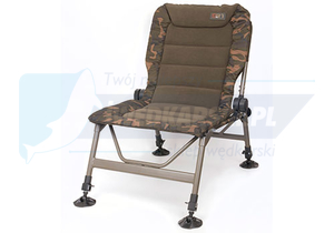 FOX fotel karpiowy R1 Camo Recliner Chair