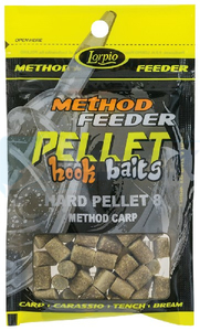 LORPIO Hard Pellet method carp 8 mm 25g - Przyneta Method Feeder PELLET HOOK BAITS