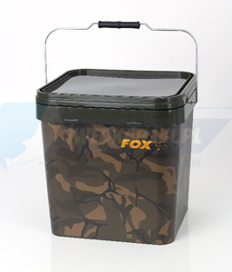 Wiadro FOX Camo Square Bucket 17L