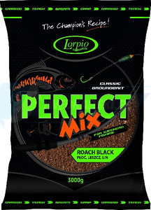 LORPIO Zanęta perfect mix ROACH BLACK 3000g