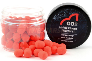 SPOTTED FIN GO2 The Natural Dumbell Waftersy 8mm - Strawberry