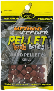 LORPIO HARD PELLET KRILL 8 mm 25g - Przyneta Method Feeder PELLET HOOK BAITS
