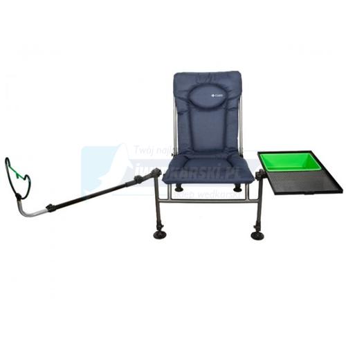 Elektrostatyk Cuzo F2 Fotel Method Feeder Niebieskie